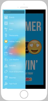 Malia Life App Portfolio Screen 1