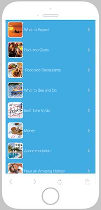 Malia Life App Portfolio Screen 3