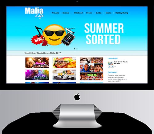 Malia Life Web Site