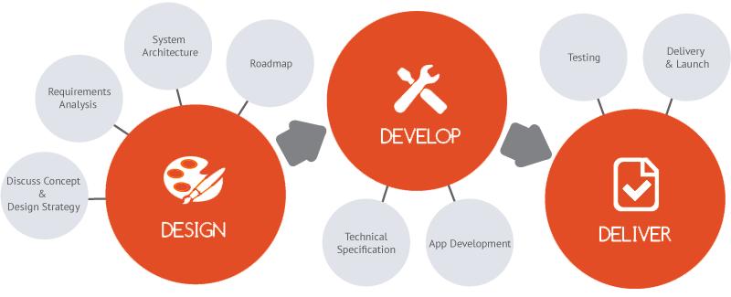 App Roadmap Infographic