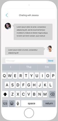 Geobiz sending messages