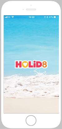 HOLiD8 portfolio screen 1