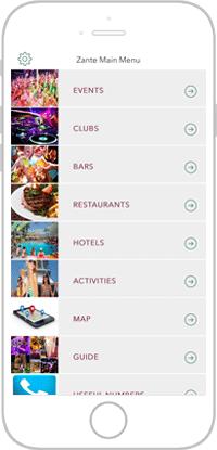 Club Life Portfolio Screen 1