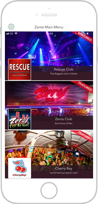 Club Life Portfolio Screen 13