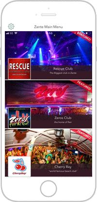 Club Life Portfolio Screen 13