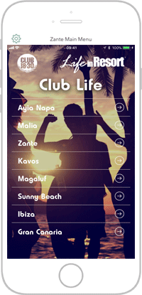 Club Life Portfolio Screen 15