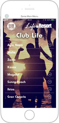 Club Life Portfolio Screen 15