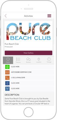 Club Life Portfolio Screen 2