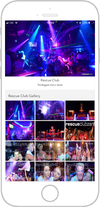 Club Life Portfolio Screen 3