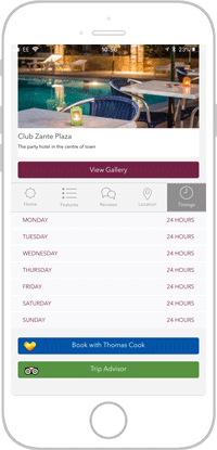 Club Life Portfolio Screen 4