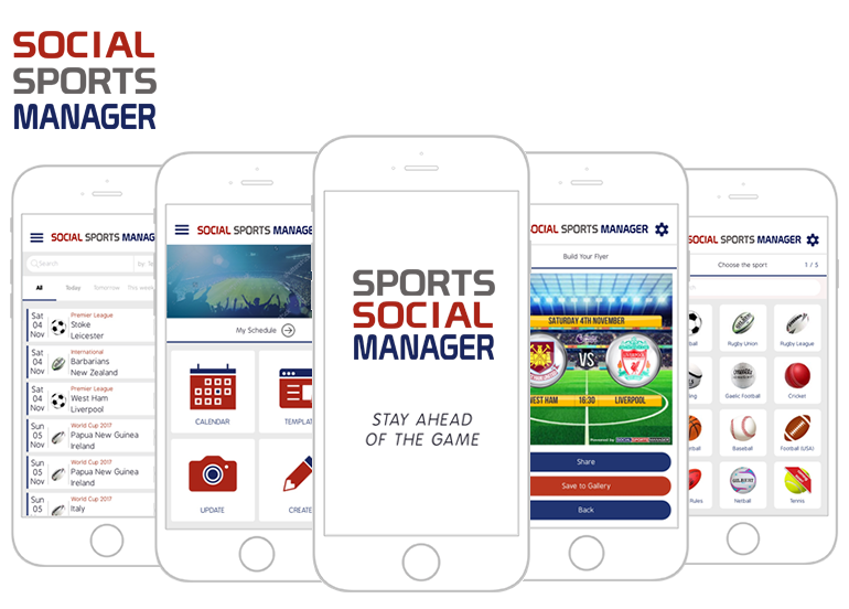 Social Sports Manager Featured Image