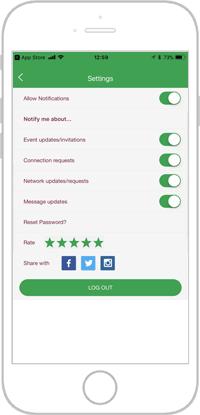 Network golf app portfolio screen 10