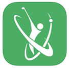 Network golf app icon