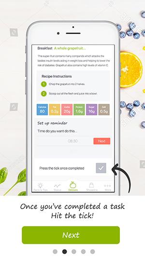 tutorial screen detox pro app 8