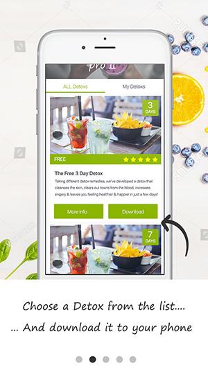tutorial screen detox pro app 10