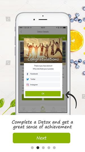 tutorial screen detox pro app 12
