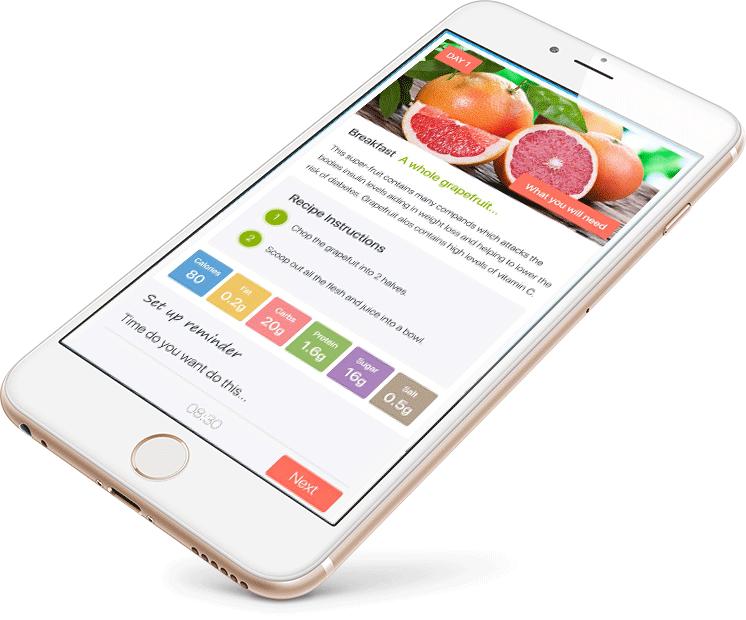 detox pro app main phone image