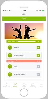 detox pro app portfolio screen 3