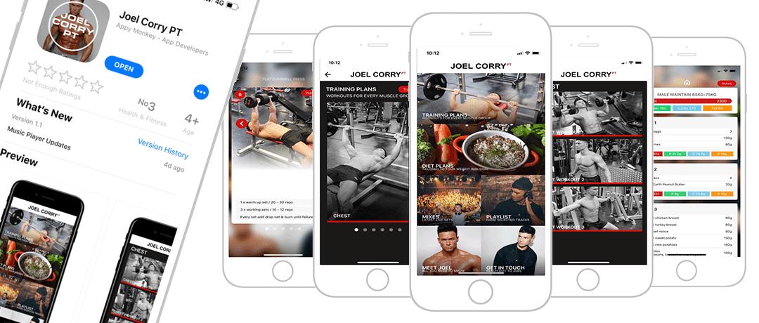 Joel Corry App News Article